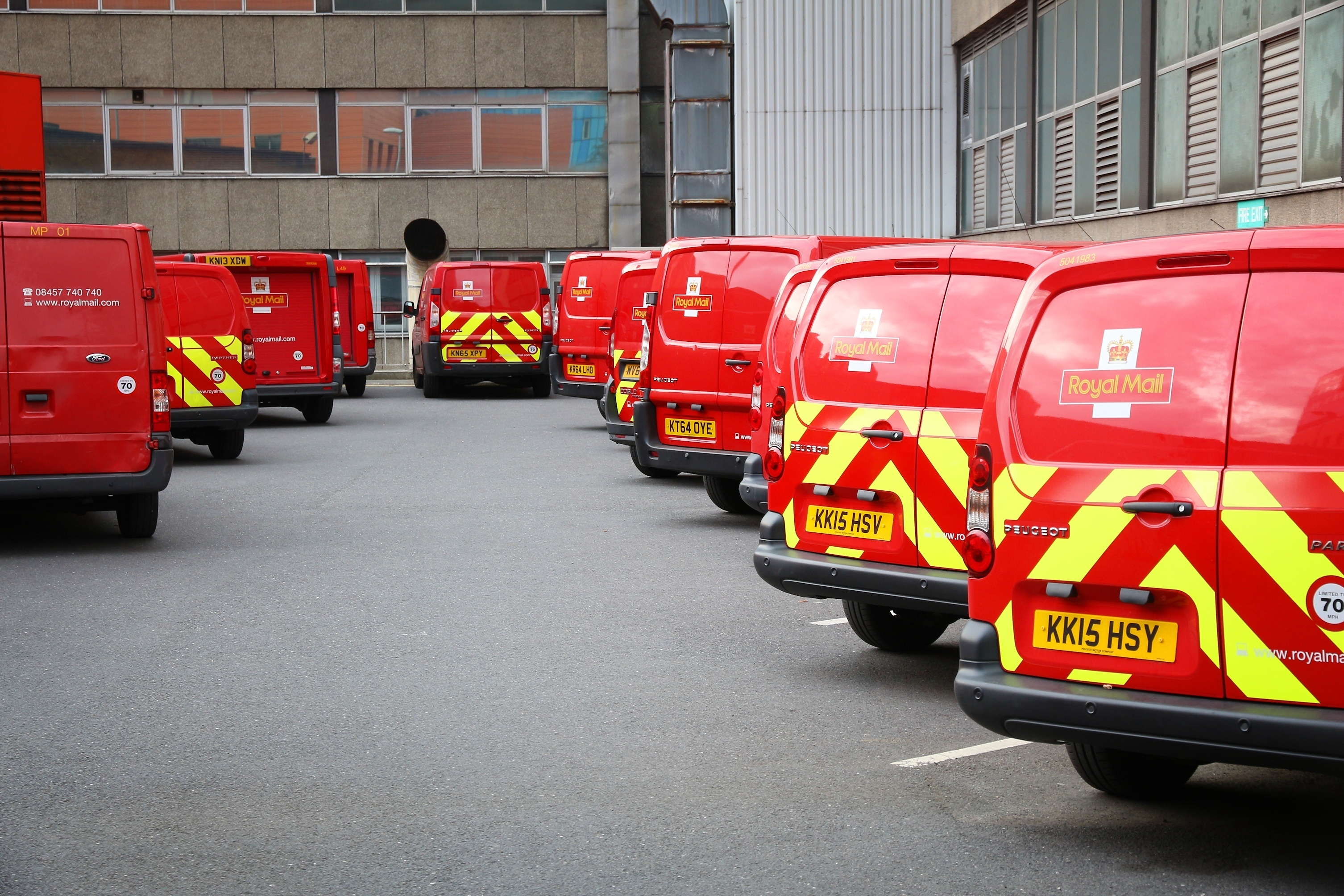 royal mail strike anyvan
