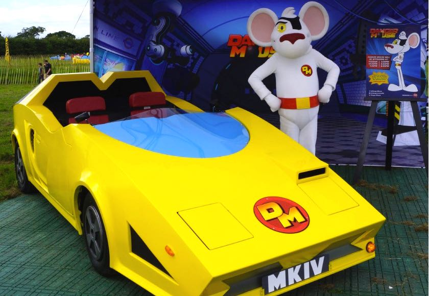 real danger mouse car